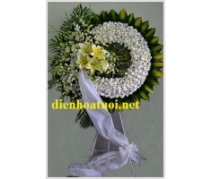 Vòng hoa viếng đám ma - DH397