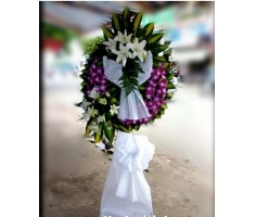 Vòng hoa tang lễ - DH264
