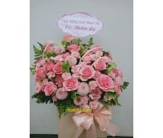 Giỏ hoa để bàn - DH890