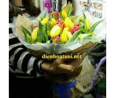 Bó hoa tulip - DH385