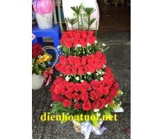 Giỏ hồng 3 tầng - DH1063