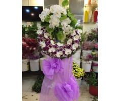 Hoa tang lễ kiểu mới - DH425