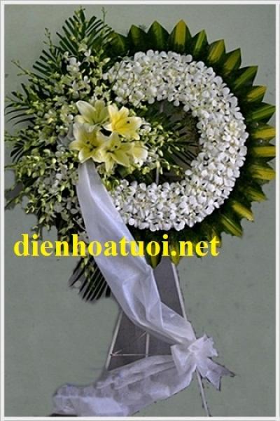 Vòng hoa viếng đám ma - DH1071
