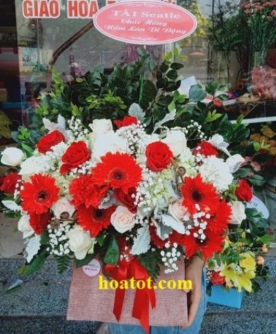 Giỏ hoa - DH893