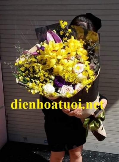 Bó hoa dài đẹp - DH1064